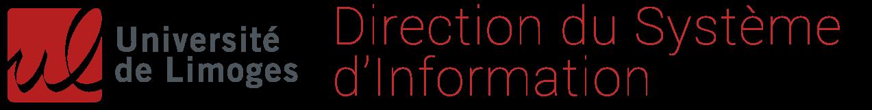 Direction du Système d'Information DSI Université de Limoges