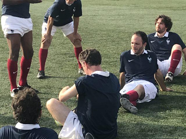 Match de football des écrivains sportifs