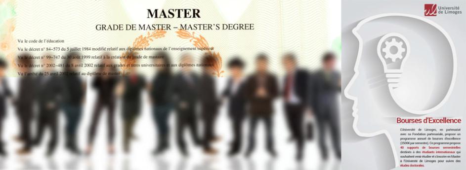 Fermeture des inscriptions en Master le 12 juin 2016