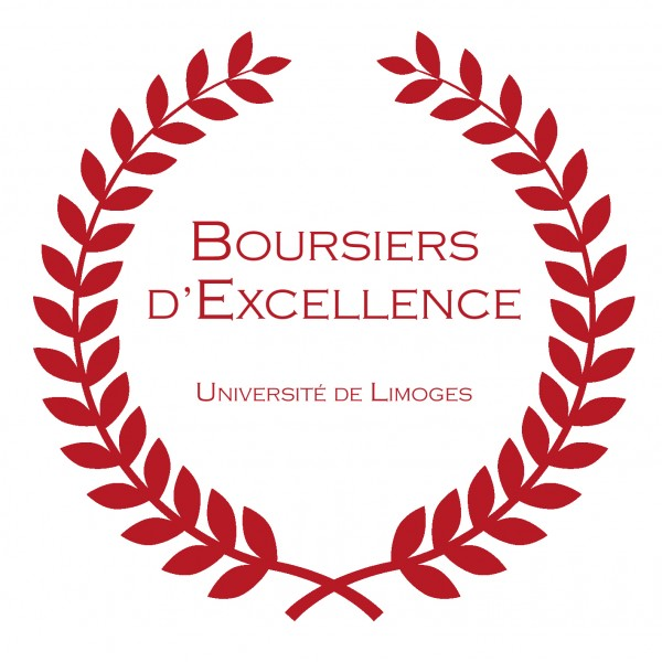 Université de Limoges - Blason boursiers excellence