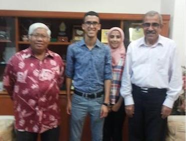 Etudiants ENSIL Malaisie