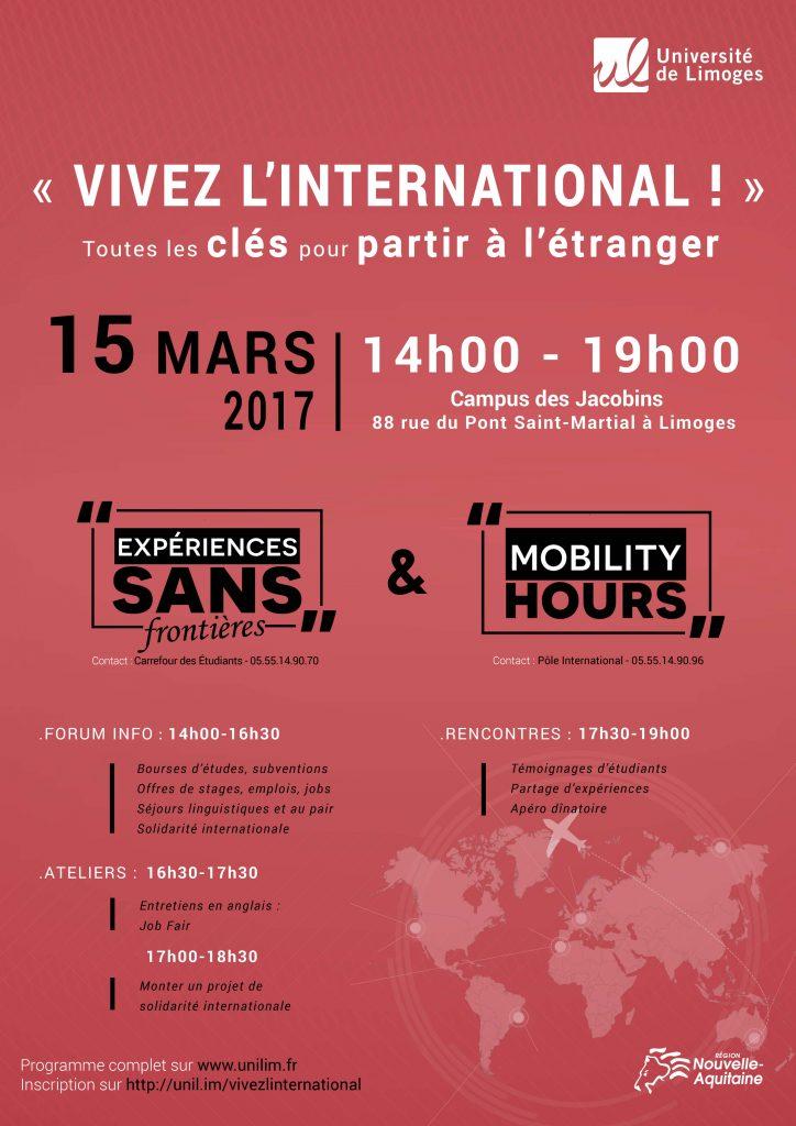 mobilité international Université de Limoges