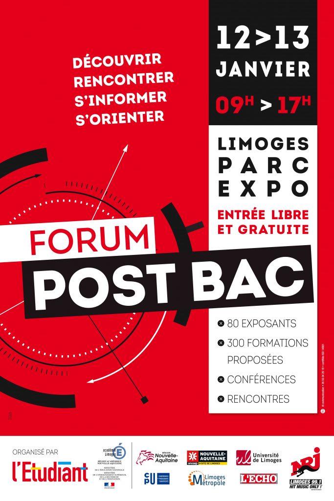 Forum post bac 2018 université limoges