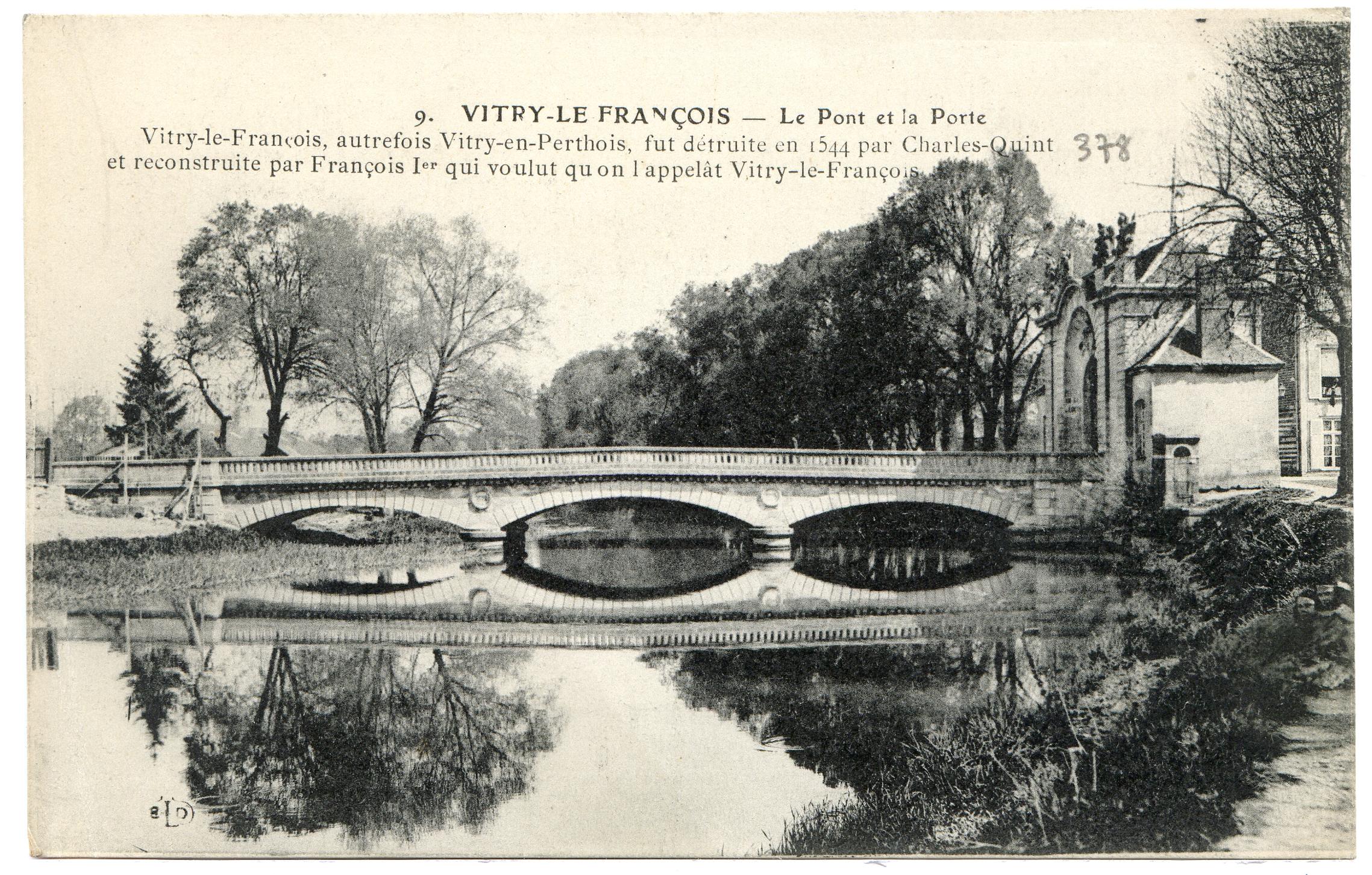 Vitry le fran ois le pont et la porte for Garage vitry le francois