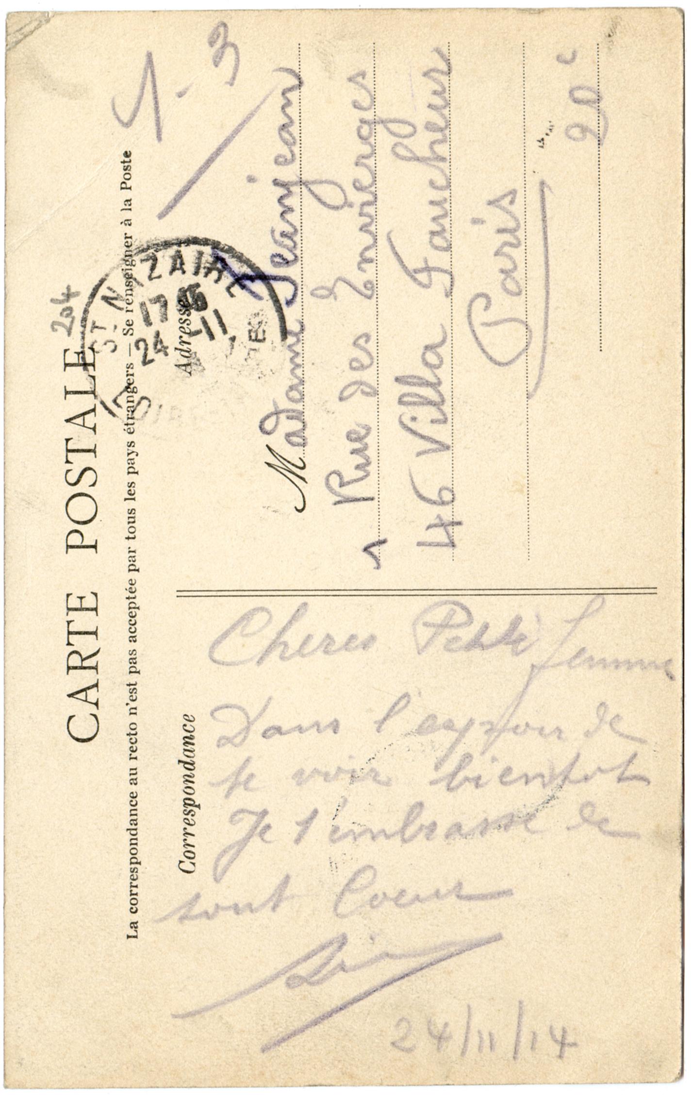 Lettre correspondances prives Modles de lettres