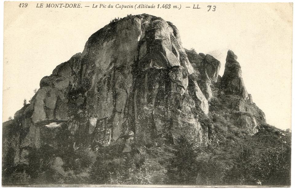 le mont dore le pic du capucin altitude 1463 m