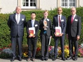 SPCTS : 2ème prix Gustav Eirich Award pour Younes Belrhiti