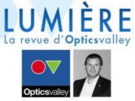 Philippe Leproux mis à l'honneur par Optics Valley