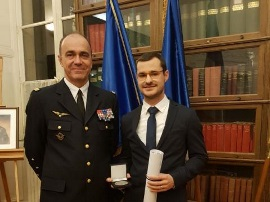 XLIM: Romain Négrier reçoit le prix Clément ADER