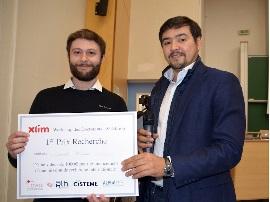 4 lauréats pour le 8ème Workshop des Doctorants XLIM
