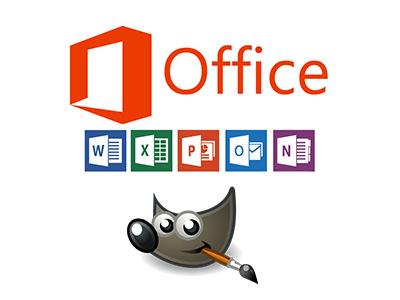 logos office et gimp