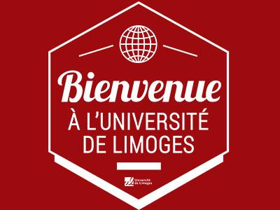 Bienvenue à l'Uniersité de Limoges