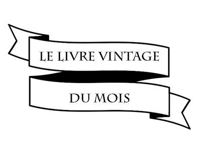 Logo Livre vintage du mois