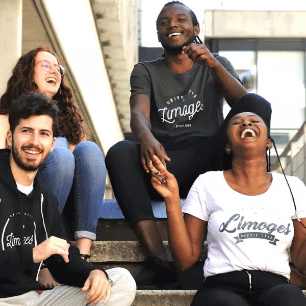 photo d'étudiants à l'université de limoges