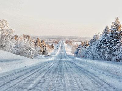 photographie payasage en hiver