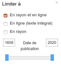 image des filtres du catalogue