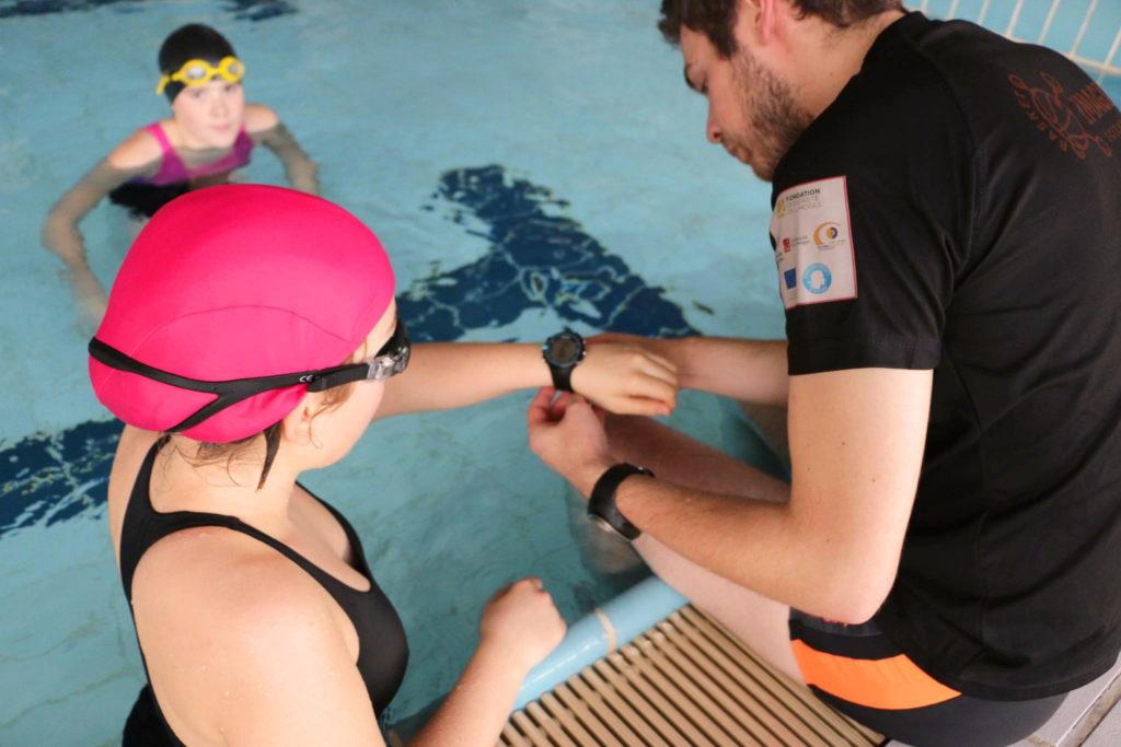 1. atelier natation