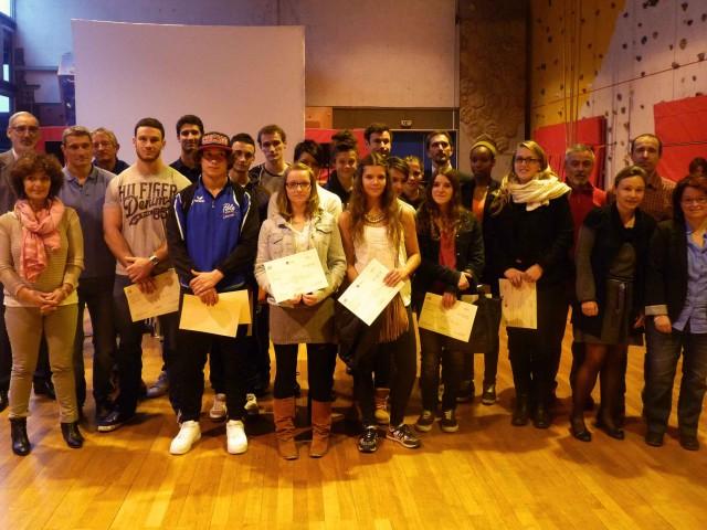 Remise des trophées aux étudiants sportifs