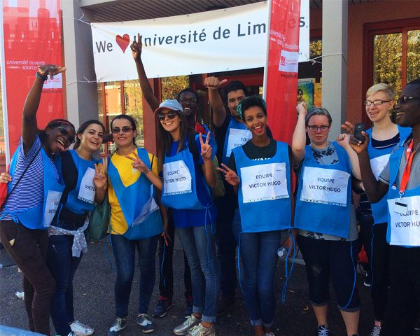 The International Welcome Day of the University of Limoges