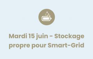 Pictogramme Stockage propre pour Smart-Grid