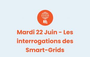 Pictogramme Les interrogations des Smart-Grids