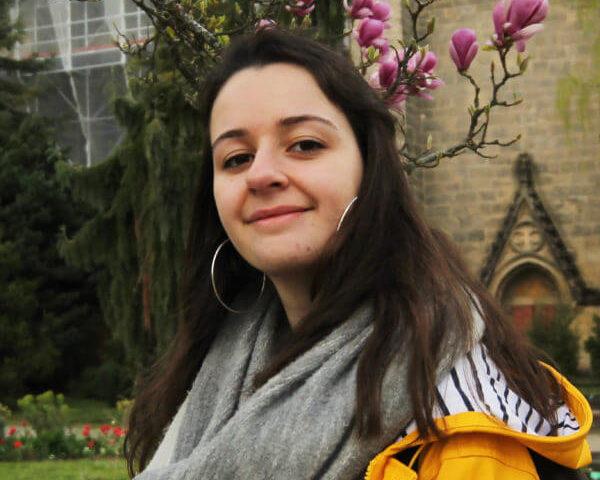 Portrait de Florianne, tuteur Covid