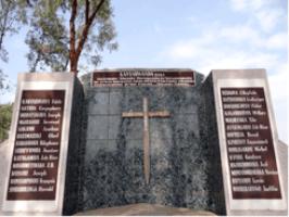 Mémorial du génocide de Nyanza /Rwanda